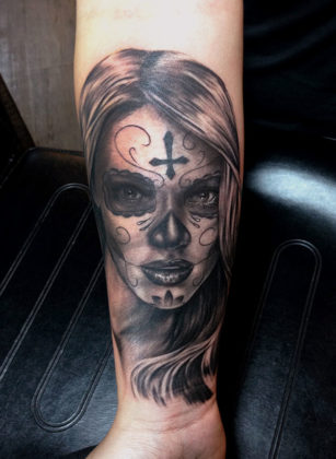 Day of the Dead Tattoos 15