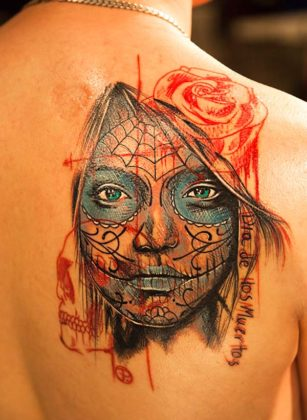 Day of the Dead Tattoos 20