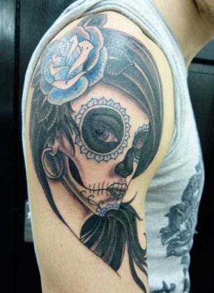 Day of the Dead Tattoos 21