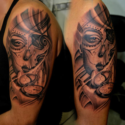 Day of the Dead Tattoos25