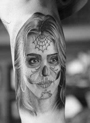 Day of the Dead Tattoos 27