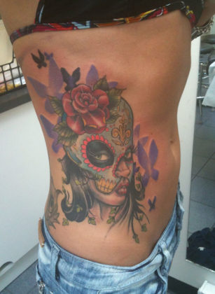 Day of the Dead Tattoos 28