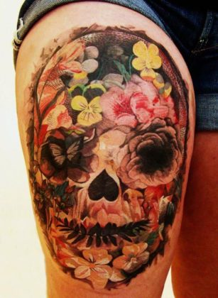 Day of the Dead Tattoos 29