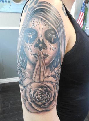 Day of the Dead Tattoos 30