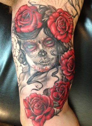 Day of the Dead Tattoos 31