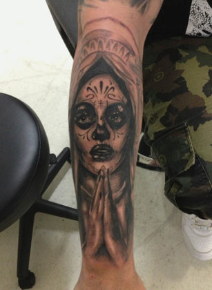 Day of the Dead Tattoos 32