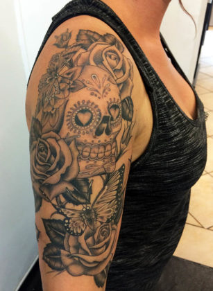 Day of the Dead Tattoos 33