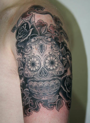 Day of the Dead Tattoos 34