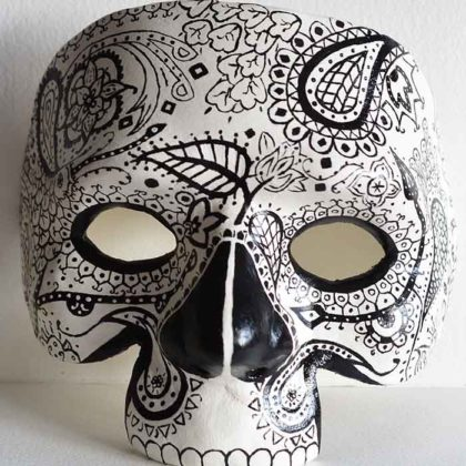 Day of the Dead Mask 4