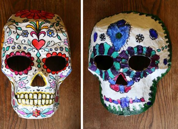 Day of the Dead Mask 8