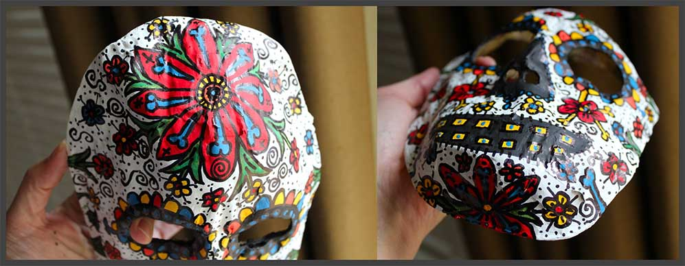 Day of the Dead Mask 12