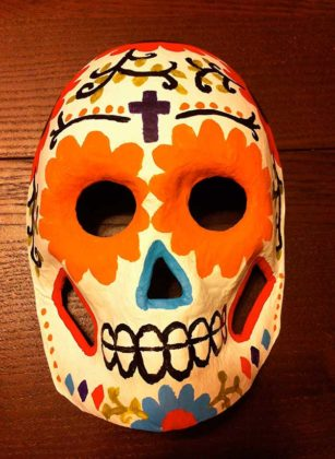 Day of the Dead Mask 1
