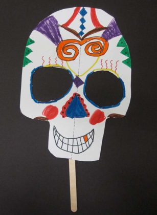 Day of the Dead Mask 2