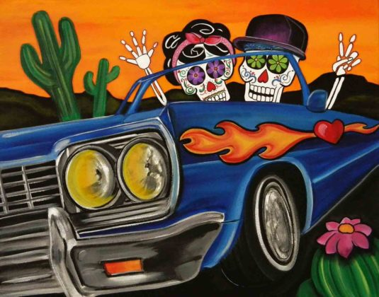 Day of the Dead Artwork 17
