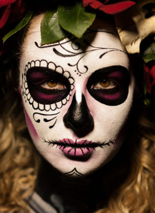 Day of the Dead Face Paint 2
