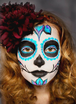 Day of the Dead Face Paint 3