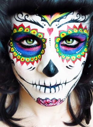 Day of the Dead Face Paint 4