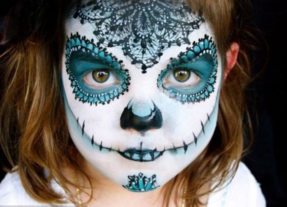 Day of the Dead Face Paint 5