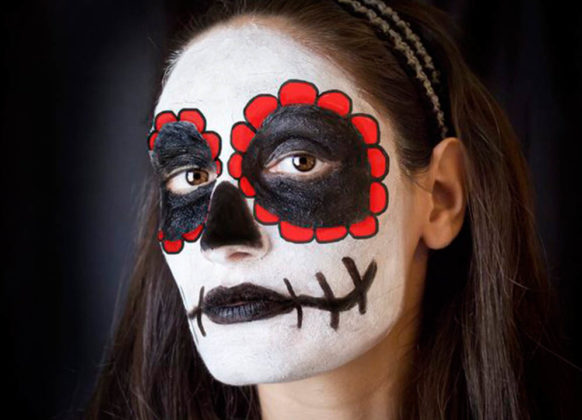 Day of the Dead Face Paint 6