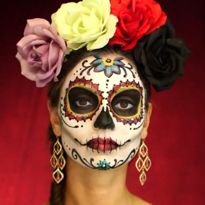 Day of the Dead Face Paint 7