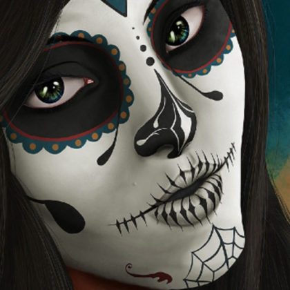 Day of the Dead Face Paint 8