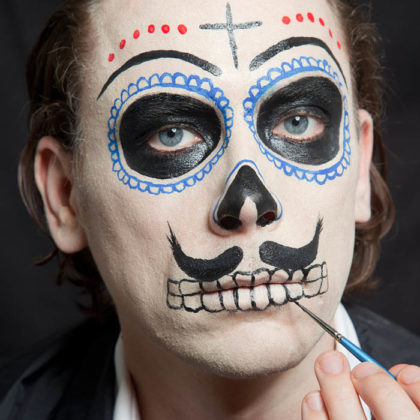Day of the Dead Face Paint 1