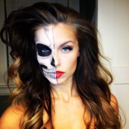 Day of the Dead Makeup Ideas 15
