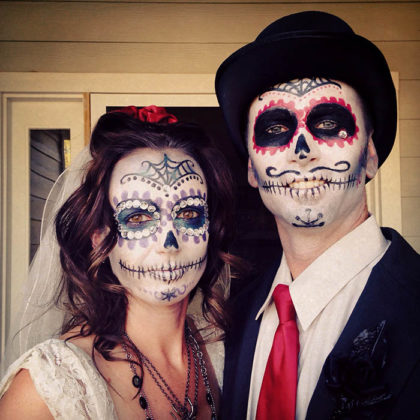 Day of the Dead Makeup Ideas 17