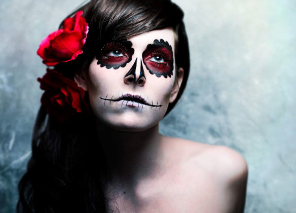 Day of the Dead Makeup Ideas 21