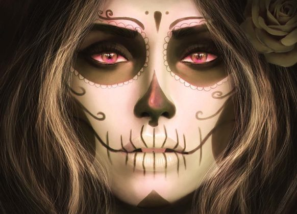 Day of the Dead Makeup Ideas 22