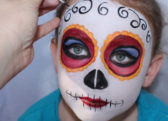 Day of the Dead Makeup Ideas 23