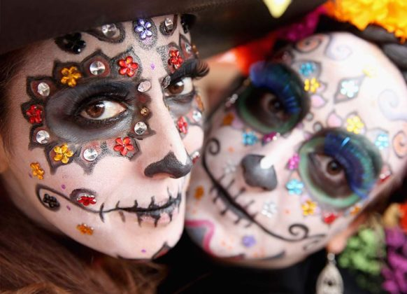 Day of the Dead Makeup Ideas 25