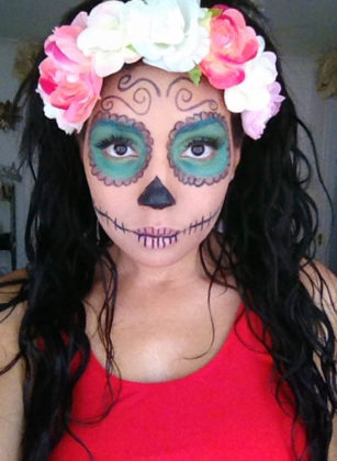 Day of the Dead Makeup Ideas 30