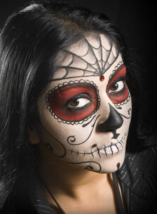 Day of the Dead Makeup Ideas 35