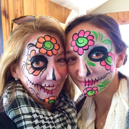 Day of the Dead Makeup Ideas 37
