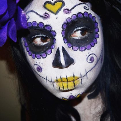 Day of the Dead Makeup Ideas 38