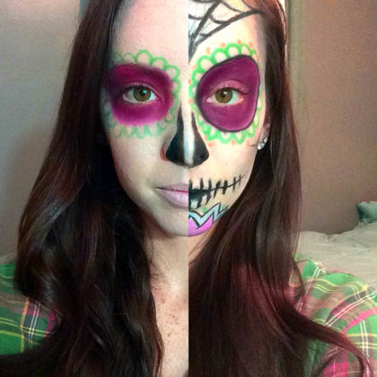 Day of the Dead Makeup Ideas 39