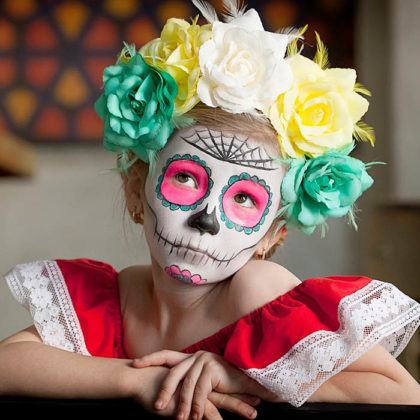 Day of the Dead Makeup Ideas 40