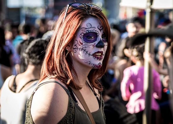 Day of the Dead Makeup Ideas 43