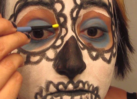 Day of the Dead Makeup Ideas 46