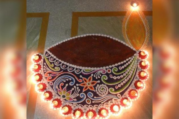 diya-rangoli-for-diwali-12