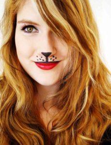 fox-halloween-makeup