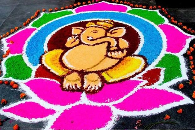 ganesha-rangoli-designs-for-diwali-4