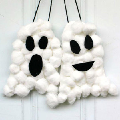 halloween-cotton-ball-ghost