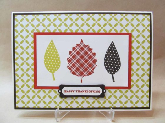 Handmade Thanksgiving Cards 10
