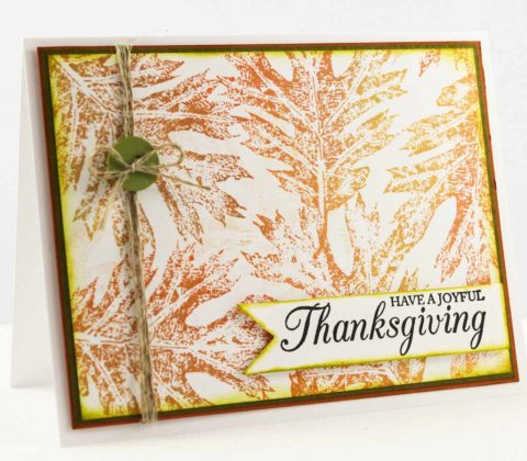 Handmade Thanksgiving Cards 8