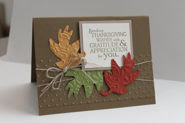 Handmade Thanksgiving Cards 6