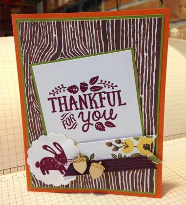Handmade Thanksgiving Cards 1