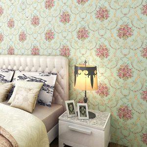 Light flower Bedroom Wallpaper