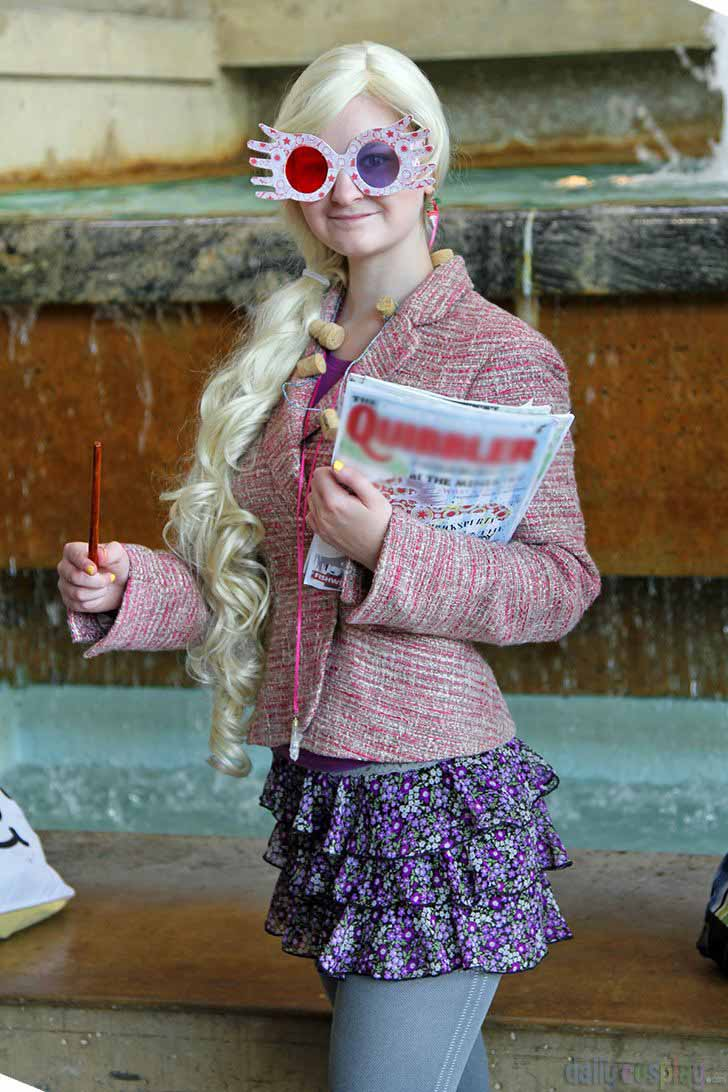 Luna Lovegood Harry Potter Costume & 14 Harry Potter Halloween Costumes Which Are Pure Magic| LivingHours